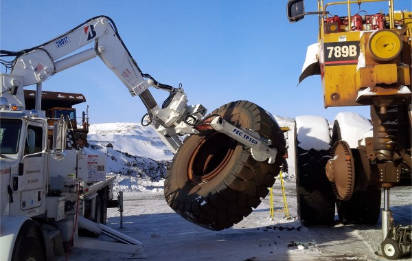 Mining truck dismantling